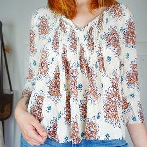 Anthropologie Vanessa Virginia pleated blouse 6